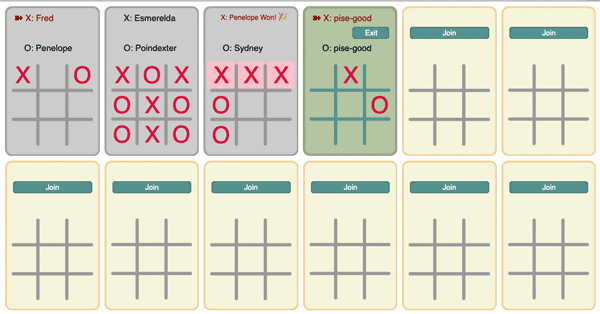 tictactoe example